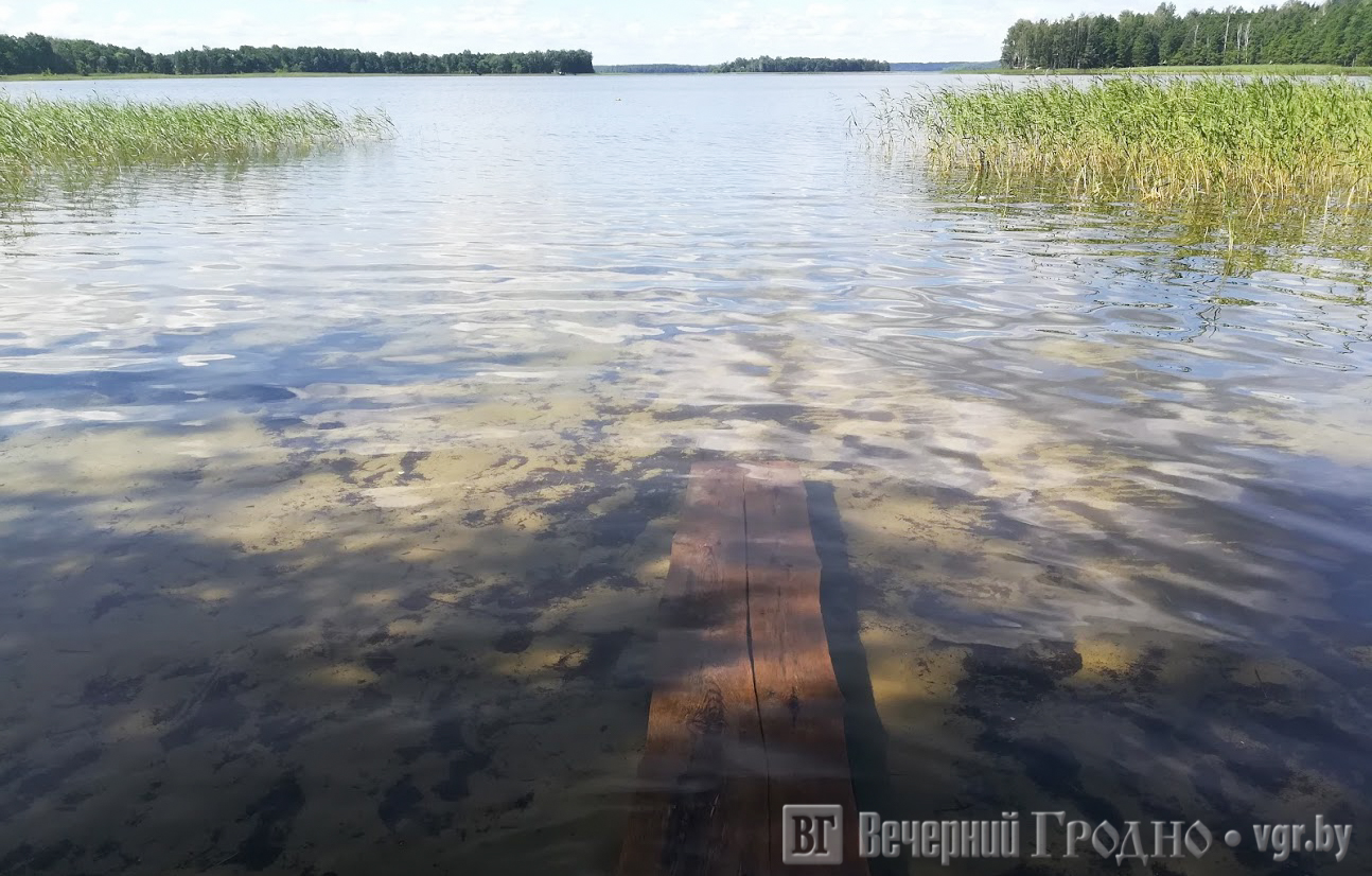 озеро Струсто, турстоянка Будилы