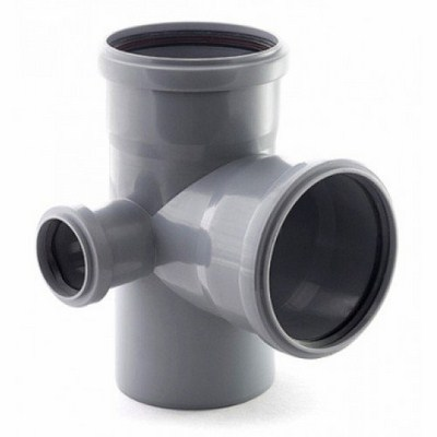 Крестовина ПП для внутренней канализации РТП